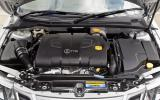 Saab 9-3 Sportwagon engine bay