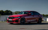 Alpina B3 2020 road test review - static front