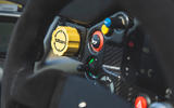 Ariel Atom 4 2019 road test review - steering wheel buttons