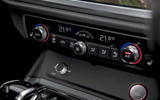 Audi RS Q3 2020 road test review - climate control