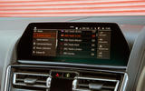 BMW 8 Series Coupé 2019 road test review - infotainment