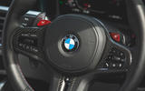 19 BMW M4 Competition 2021 RT steering wheel