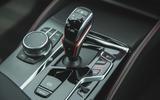 19 BMW M5 CS 2021 RT gearstick