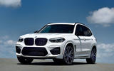 BMW X3 M Competition 2019 review - static front