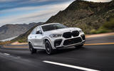 BMW X6 M Competition 2020 road test review - on the road front