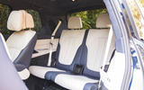 BMW X7 2020 road test review - rear row