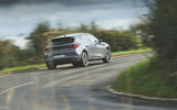 Cupra Leon 2020 road test review - cornering rear