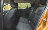 19 Dacia Sandero Stepway 2021 RT rear seats