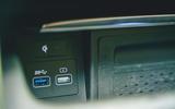19 Genesis GV80 2021 road test review USB ports