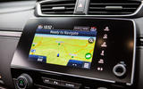 Honda CR-V 2018 road test review - satnav