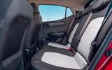 Hyundai i10 2020 road test review - rear seats