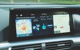 Hyundai Nexo 2019 road test review - infotainment