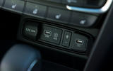 Hyundai Santa Fe 2019 road test review - USB port