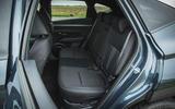 19 Hyundai Tucson 2021 road test review rear seats