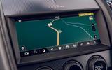 Jaguar F-Type 2020 road test review - infotainment