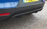 Jaguar I-Pace 2018 road test review rear bumper