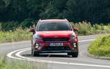 19 Kia Niro 2021 road test review on road front