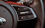 Kia Xceed 2019 road test review - steering wheel