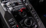 Lamborghini Aventador SVJ 2019 road test review - centre console
