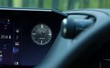 Lexus ES 2019 road test review - clock