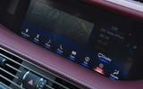Lexus LS500h 2018 road test review infotainment controls
