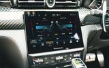 19 Maserati Quattroporte trofeo 2021 RT climate controls