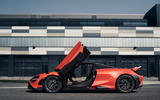 McLaren 765LT 2020 road test review - static side