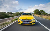 Mercedes-AMG A35 2018 review - on the road nose