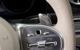 Mercedes-AMG CLS 53 2018 road test review - shifter paddles