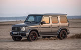 Mercedes-AMG G63 2018 review sand front