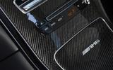 Mercedes-AMG GLC 63 S road test review carbon fibre trim