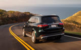 Mercedes-AMG GLS 63 2020 road test review - on the road rear