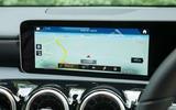 Mercedes-Benz A-Class 2018 road test review infotainment satnav