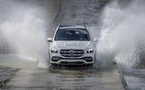 Mercedes-Benz GLE 2018 review - splash