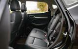 MG ZS EV 2019 road test review - rear seats