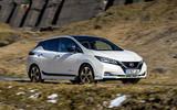 Nissan Leaf 2018 UK review on the road right