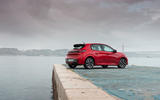 Peugeot 208 2020 road test review - static rear