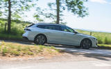 Peugeot 508 SW Hybrid 2020 road test review - on the road side