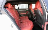 Peugeot 508 SW 2019 review - rear seats