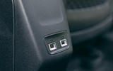 Peugeot e-2008 2020 road test review - rear USB ports