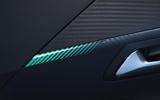 Peugeot e-208 2020 road test review - interior trim