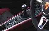 Porsche 718 Spyder 2020 road test review - centre console