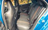 19 Renault Megane E Tech PHEV road test 2021 rear seats