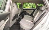19 Skoda Enyaq IV 2021 RT rear seats
