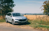 Skoda Octavia Estate 2020 road test review - static