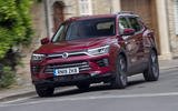 Ssangyong Korando 2019 road test review - on the road front