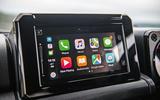 Suzuki Jimny 2018 road test review - infotainment