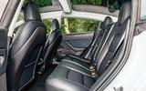Tesla Model 3 road test - rear seats