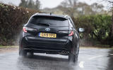 Toyota Corolla Touring Sports 2019 road test review - cornering rear