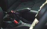 19 Toyota GR Yaris 2021 UK road test review handbrake